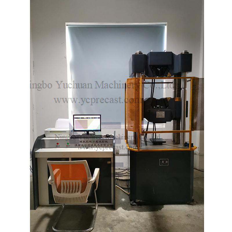 Medium tensile test machine